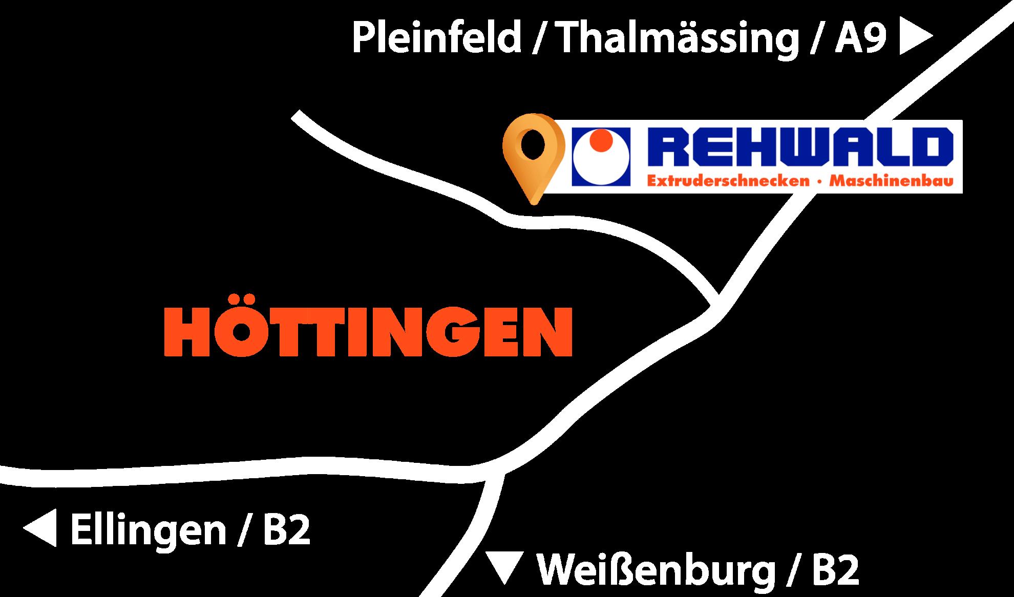 Rehwald GmbH aus Höttingen - So finden Sie uns